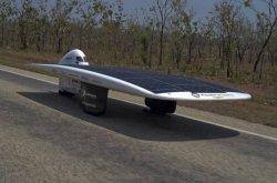 Автомобиль на солнечных батарейках