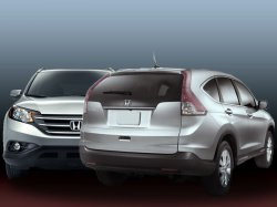Новый кроссовер четвертого поколения Honda CR–V (ч.I)